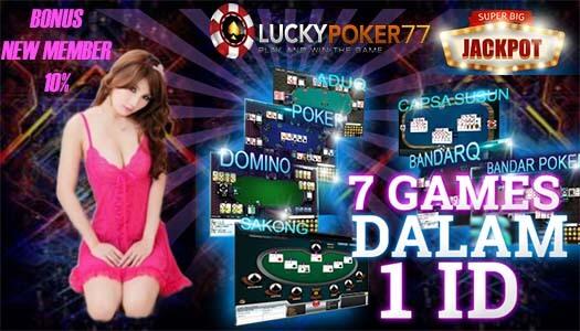 Poker Online Domino Terlaris Bersama LuckyPoker77